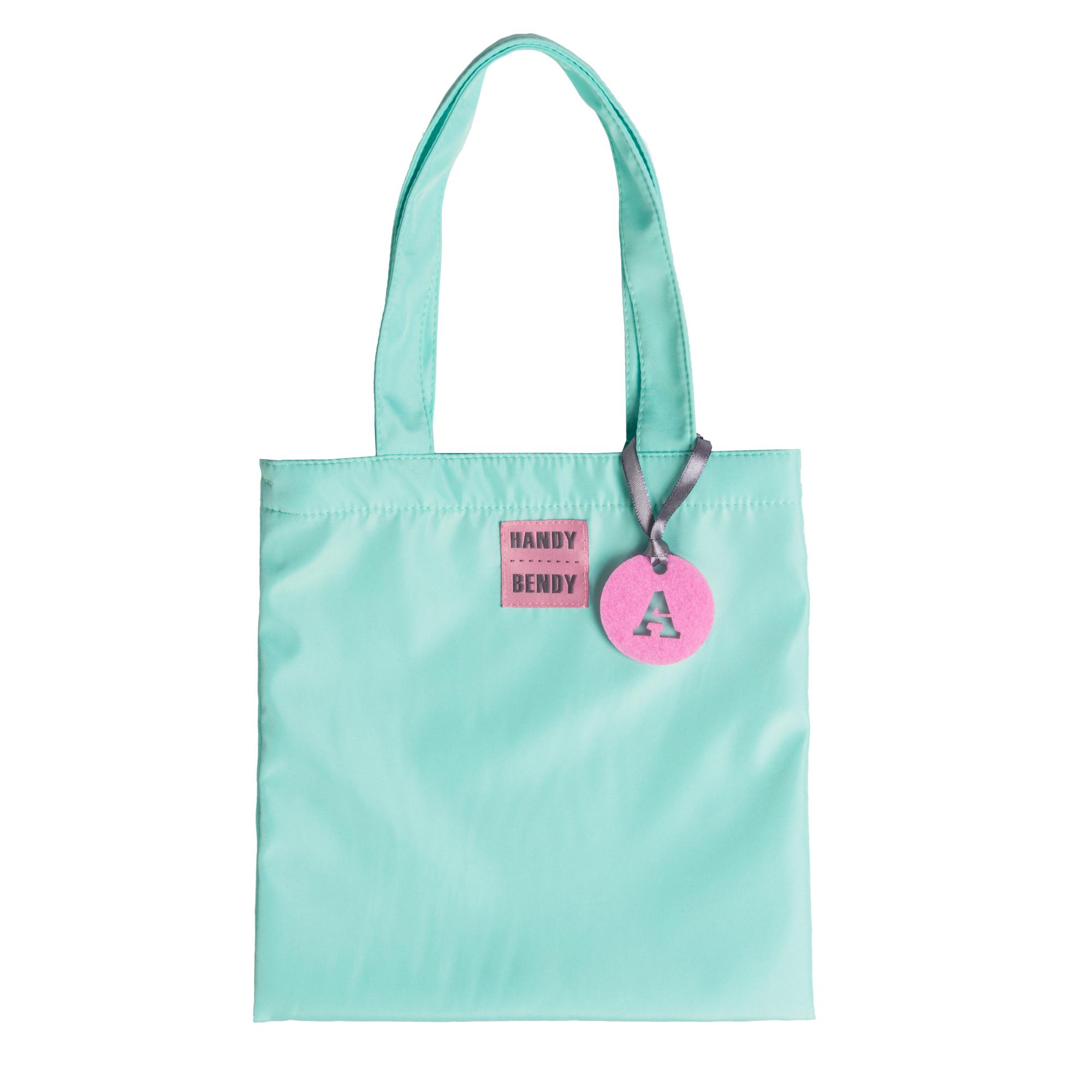 Маленькая сумка Handy Bendy со съемной ручкой и медальоном, мятный