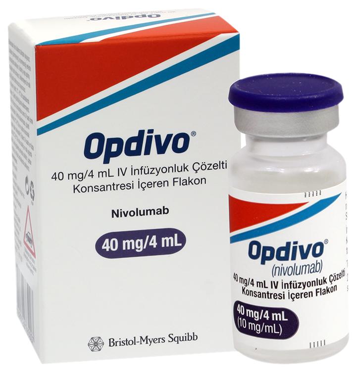 Опдиво конц. д/приг. р-ра для инф. 10 мг/мл фл. 4 мл №1