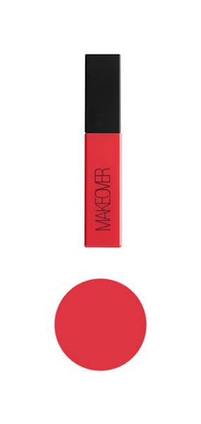 Жидкая помада MAKEOVER PARIS SOFT MATTE Rome G06C03 Яркий красный