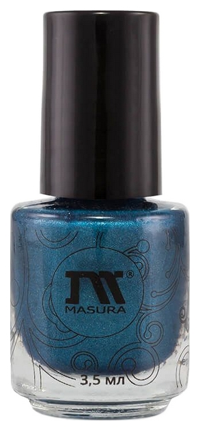 Купить Лак для ногтей Masura Драгоценные камни Горный азурит 3, 5 мл