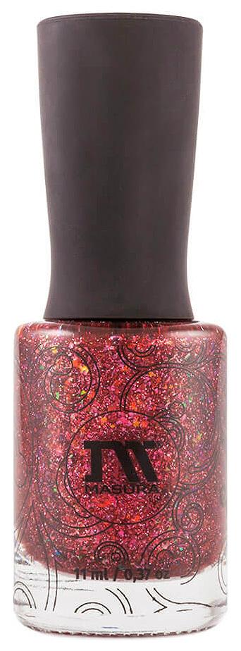 Купить Лак для ногтей Masura Золотая коллекция Celebrate red with pat 11 мл