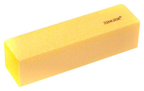 Блок шлифующий Zinger, четырехсторонний, Желтый