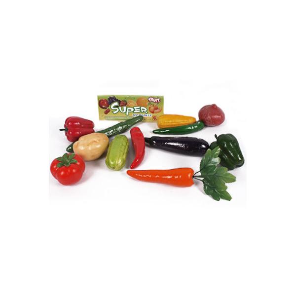 Игровой набор Shenzhen Toys Овощи, 12 предметов