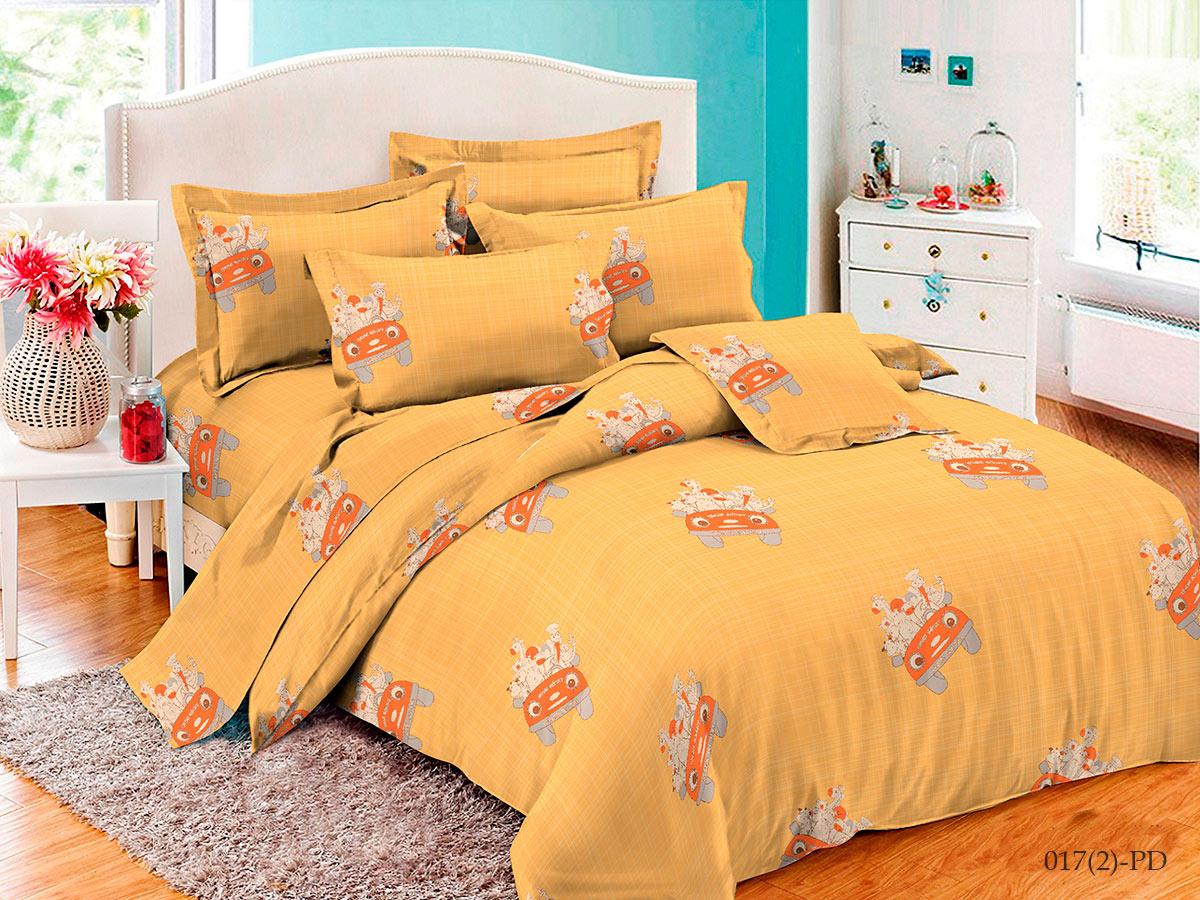 Купить Комплект детского постельного белья Cleo Baby soft Веселая компания, Комплекты детского постельного белья