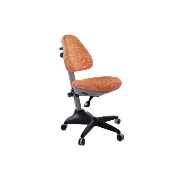 Кресло детское Бюрократ оранжевый