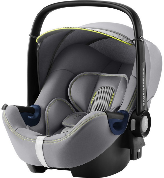 Автокресло Britax Romer Baby-Safe2 i-Size Cool Flow Silver Special Highline 0-13 кг