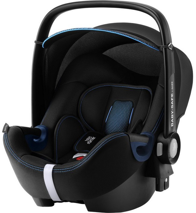 Автокресло Britax Romer Baby-Safe2 i-Size Cool Flow Blue Special Highline 0-13 кг