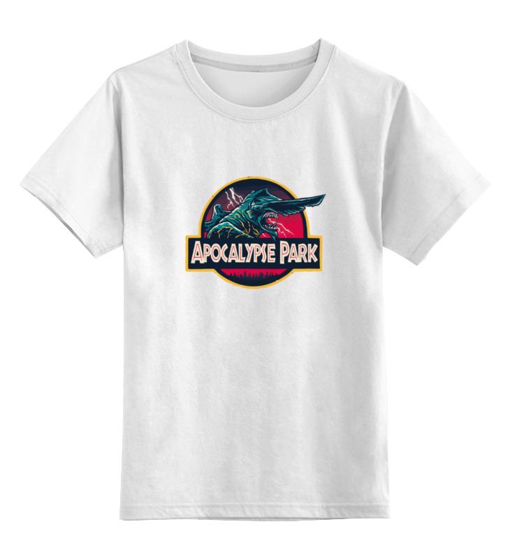 Детская футболка Printio Кайдзю цв.белый р.164 0000000750967 по цене 790