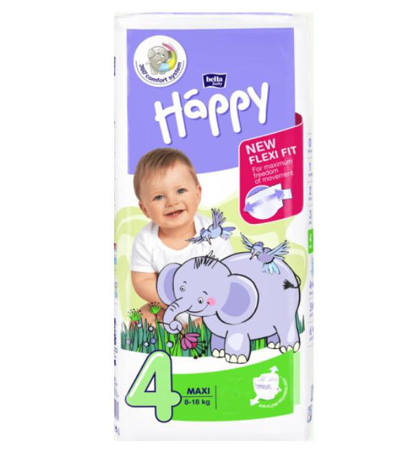 Купить Подгузники-трусики Bella Baby Happy Maxi 4 (8-18 кг), 44 шт.,
