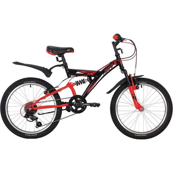 Купить Велосипед Novatrack Dart черный 20 , Детские двухколесные велосипеды