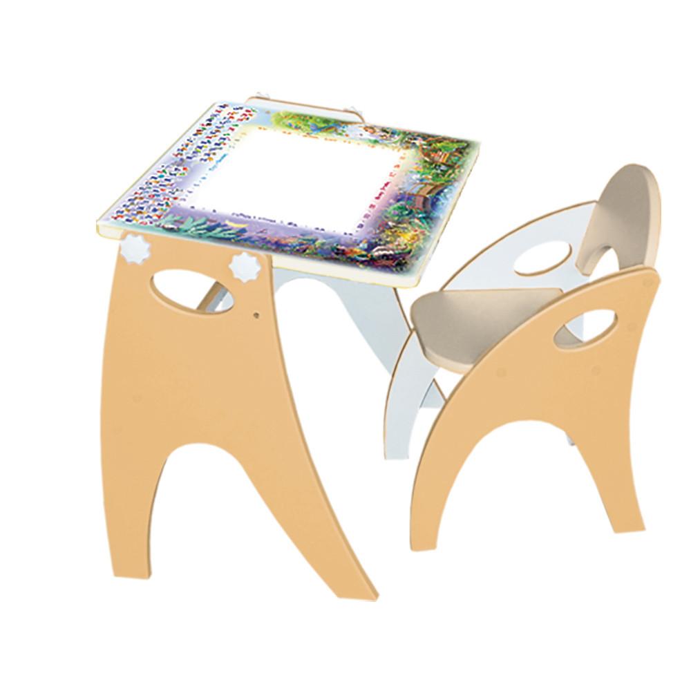 Набор мебели Интехпроект День ночь парта мольберт,