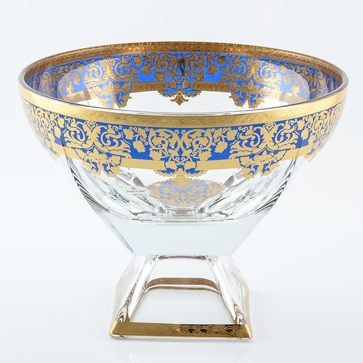 Конфетница Astra Gold Natalia Golden Blue Decor 245см.