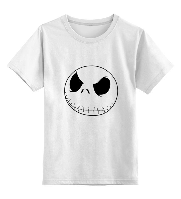 Детская футболка Printio Ужас цв.белый р.104 0000000751622 по цене 790