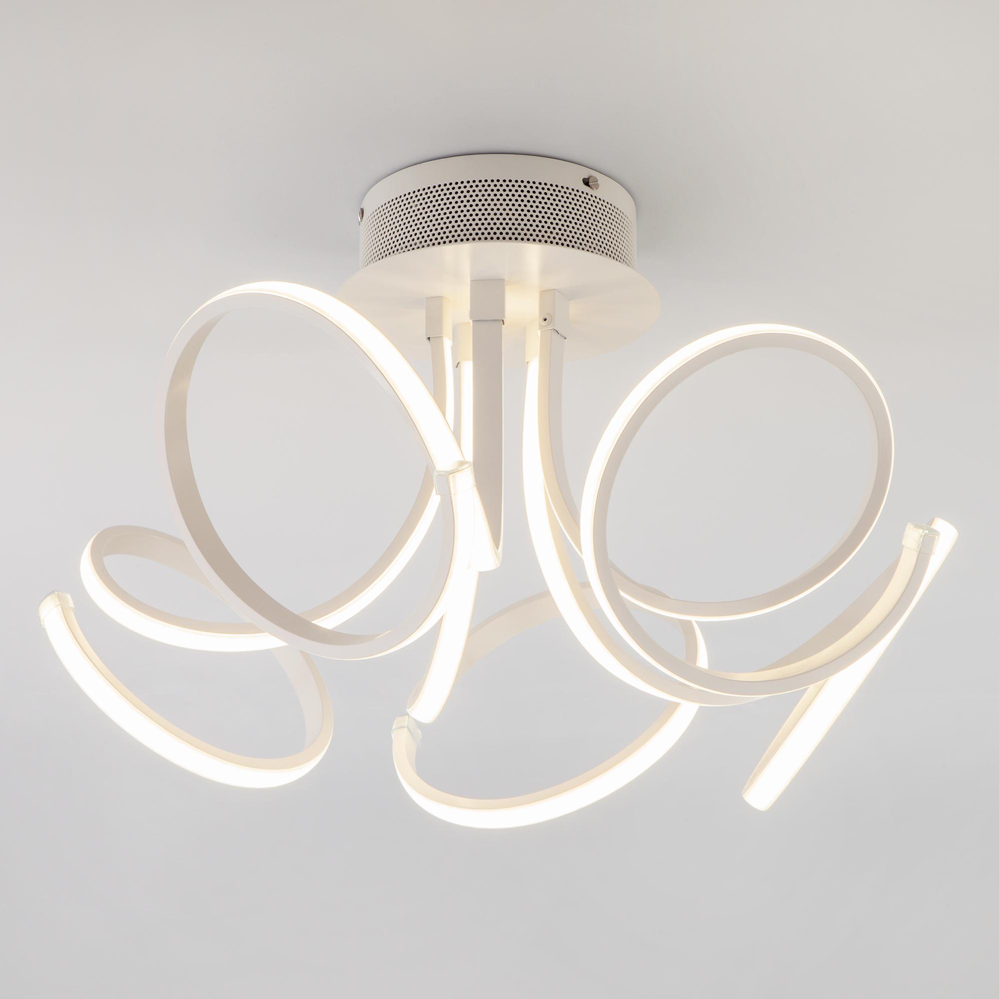 Потолочный светодиодный светильник Eurosvet Arcana 90111/5 белый