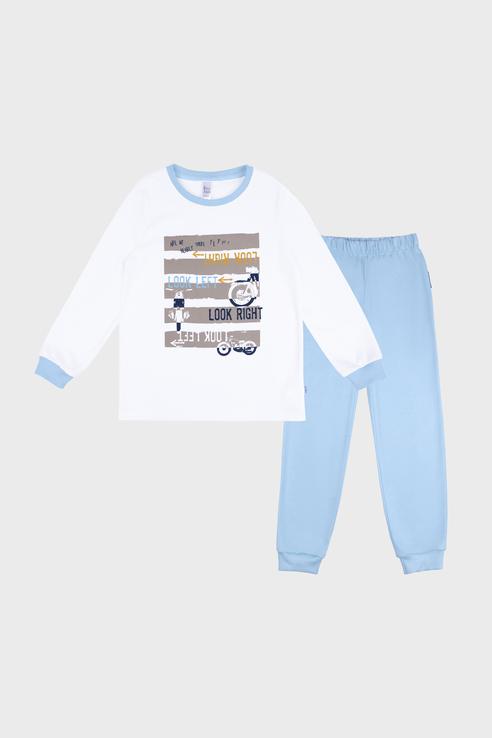 Купить 356К-161-Б, Пижама детская Bossa Nova цв. голубой р.98,