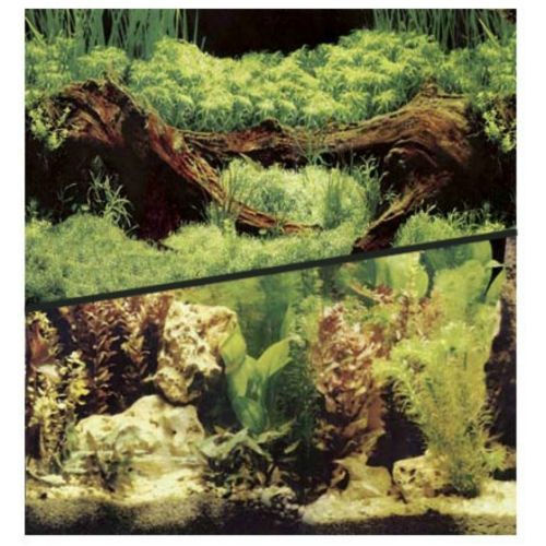 Фон для аквариума Hagen двухсторонний растительный/растительный 30см