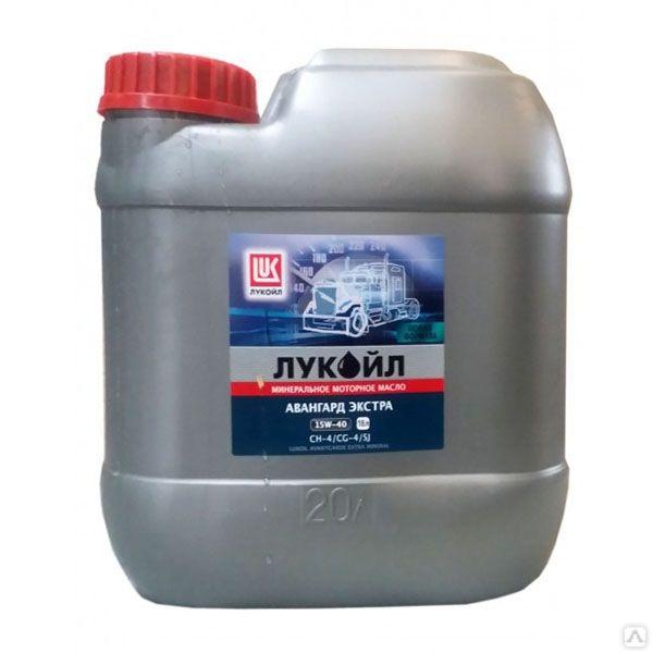 Lukoil ЛУКОЙЛ АВАНГАРД ЭКСТРА SAE 15W-40, API CH-4/CG-4/SJ  21,4 л 3051180