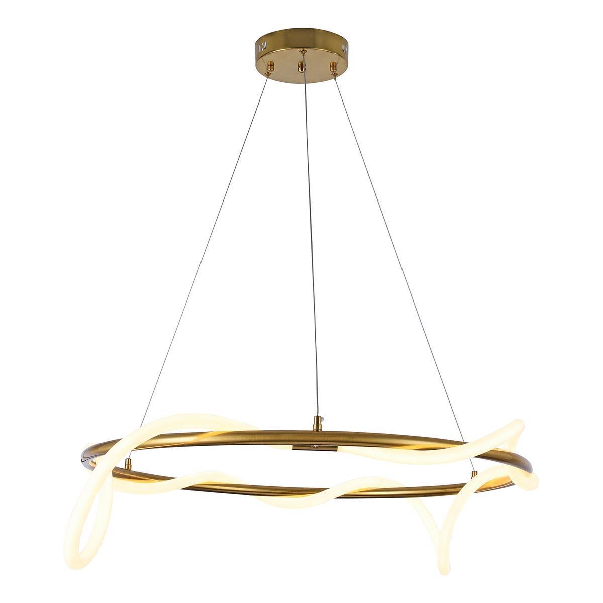Подвесной светодиодный светильник Kink Light Далия 08040