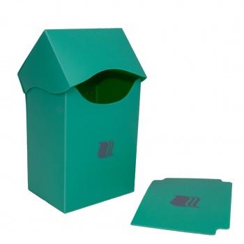 Пластиковая коробочка Blackfire вертикальная светло зеленая,