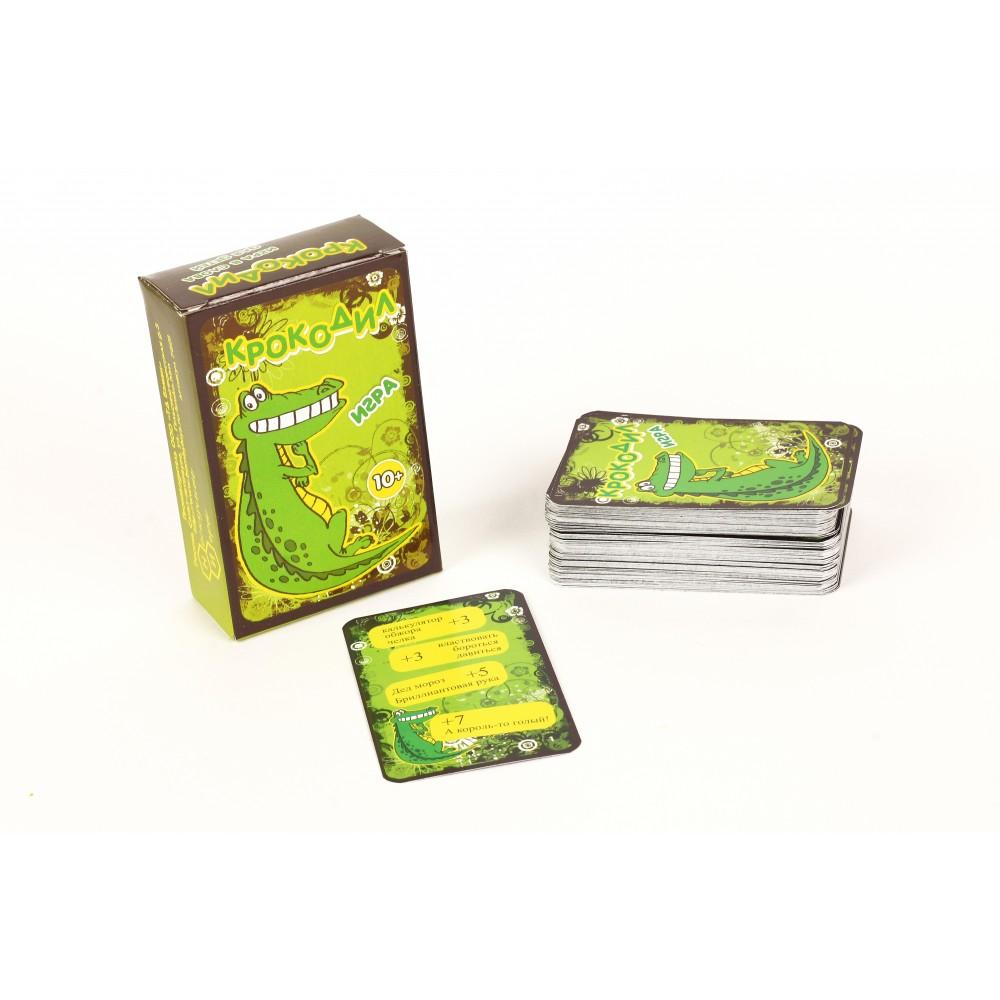 Купить Настольная игра Нескучные Игры Крокодил, 100 карт для взрослых, Семейные настольные игры