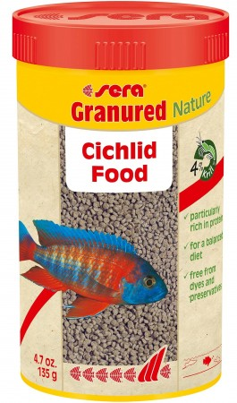 Корм для рыб Sera Granured, гранулы,