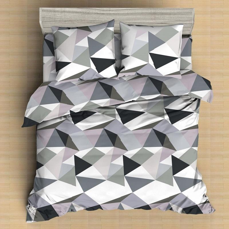 Комплект постельного белья двуспальный Amore Mio, Crystal 12031