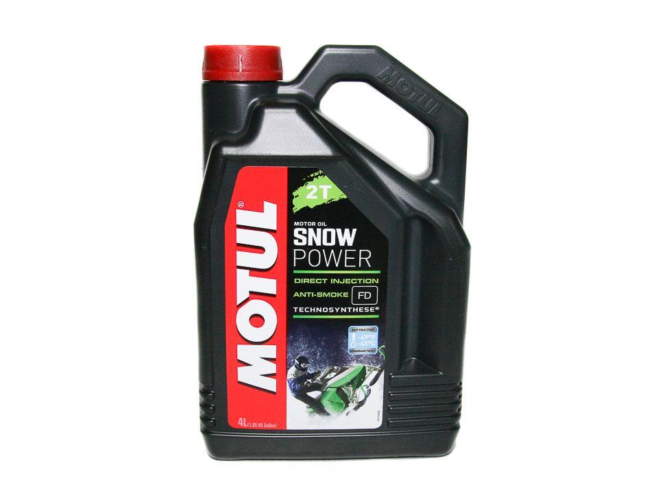 MOTUL Моторное масло 2t Motul Snowpower Синтетическое 4 Л 108210