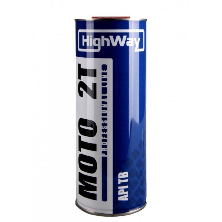 HighWay Масло моторное 2T API TB 1л