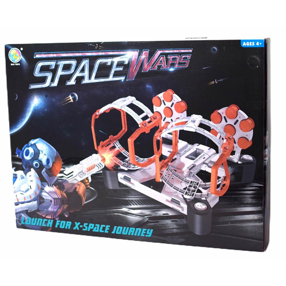 Купить DTARGET01, Набор игровой Space Wars Стрельба из бластера по гравитрону с мишенями,