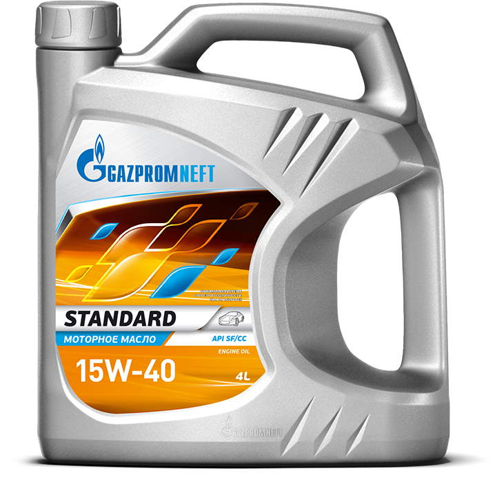 Gazpromneft Standard 15W 40 кан.5л (4