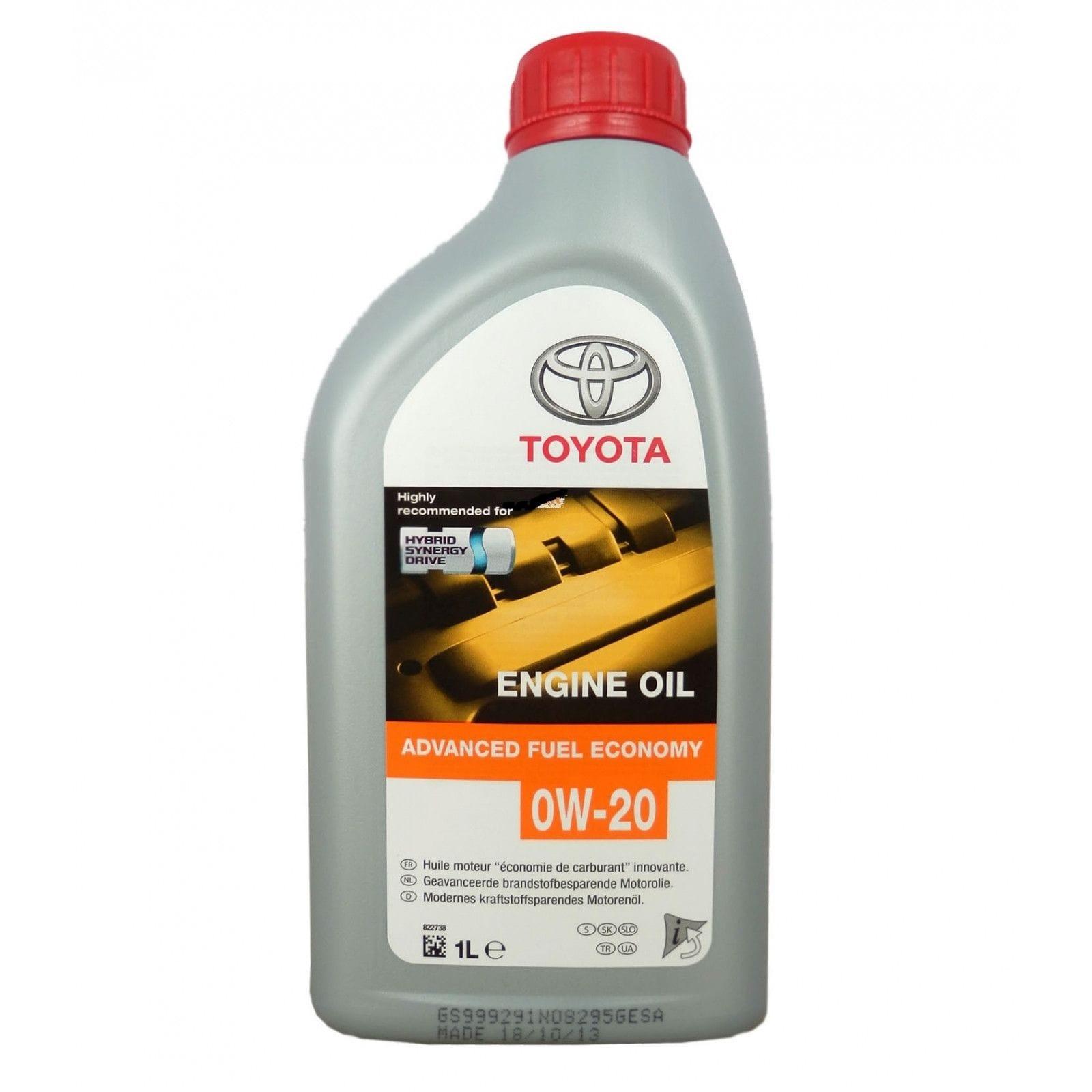 TOYOTA Моторное масло Синтетическое Toyota Motor