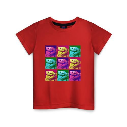 Детская футболка ВсеМайки Child Yoda, размер 140 VseMayki.ru