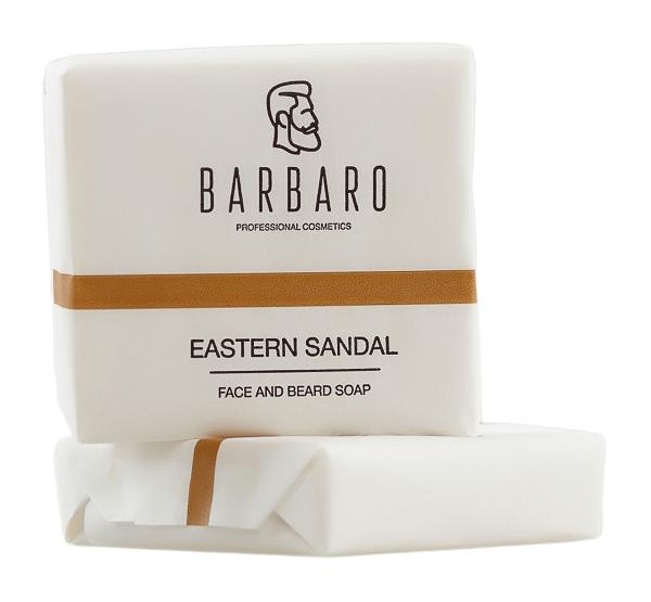 Мыло для лица и бороды BARBARO 1014