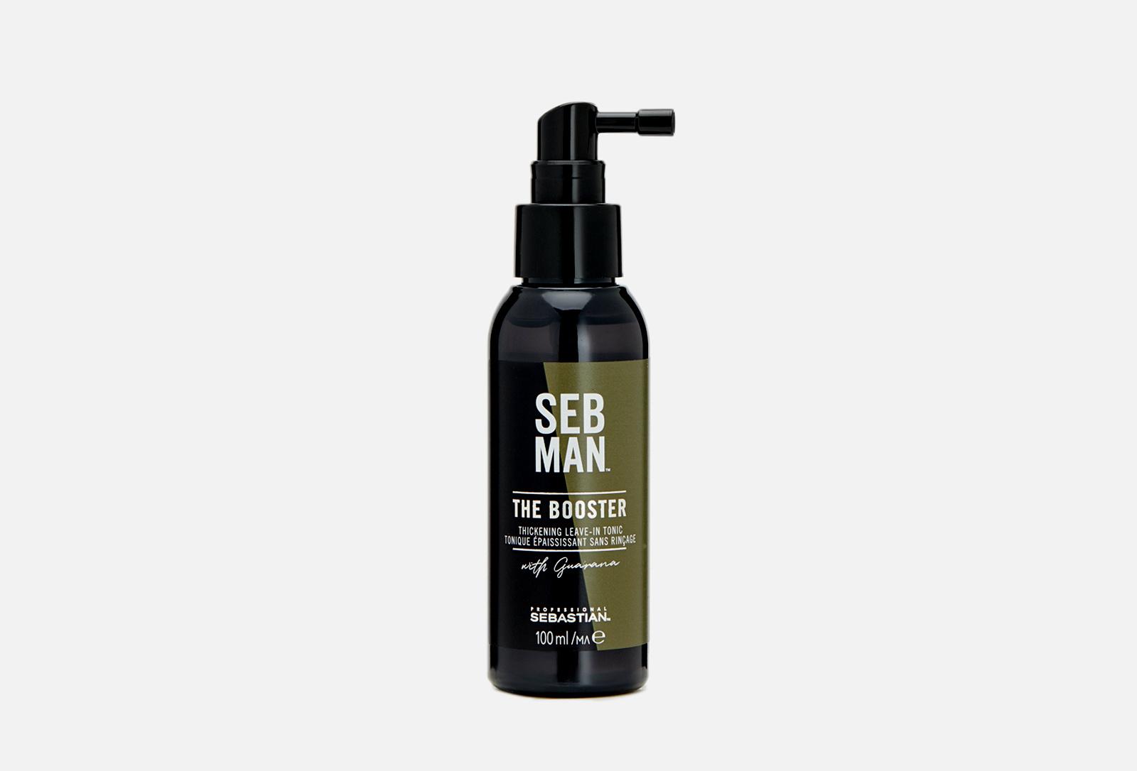 Купить Несмываемый тоник THE BOOSTER для заметной густоты волос, 100 мл, Sebman
