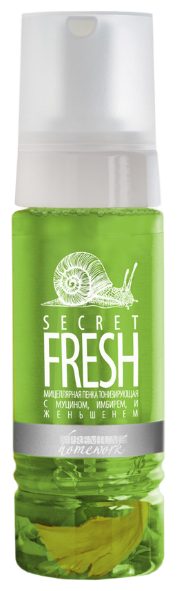 Купить Пенка для снятия макияжа Premium Homework Secret Fresh ГП040225 170 мл