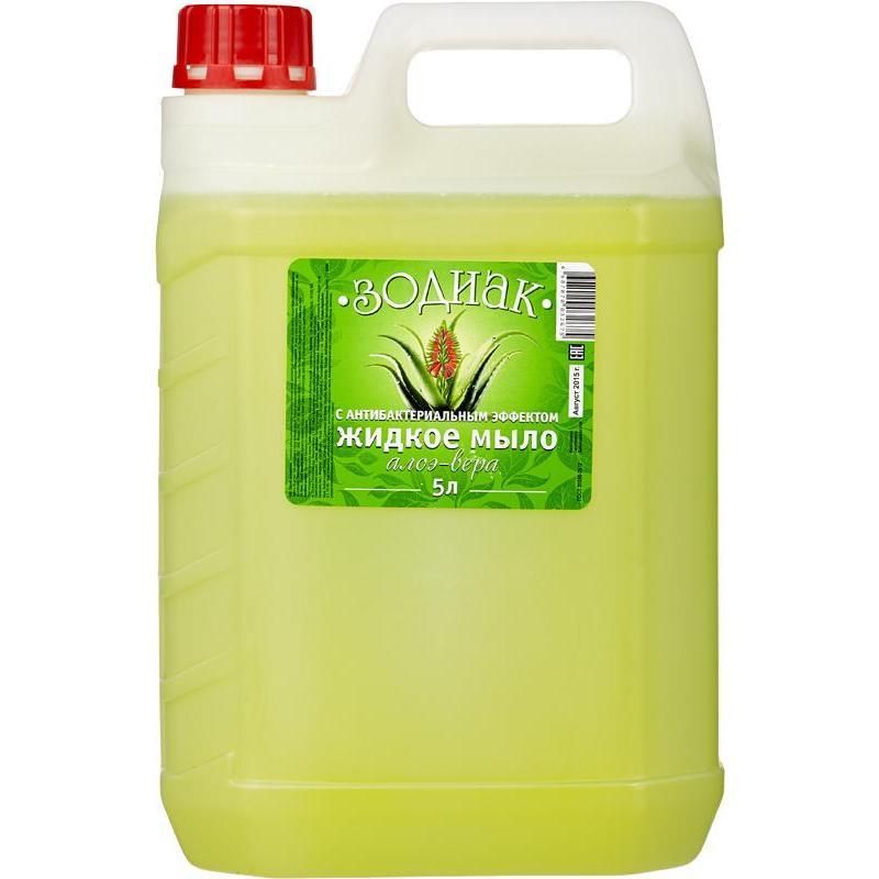 Купить Жидкое мыло Зодиак Алоэ-вера К10-5 5 л