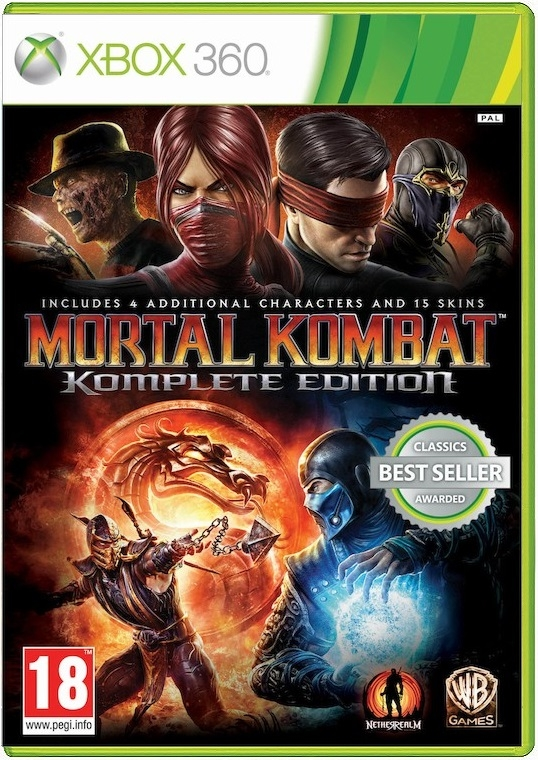 Игра Mortal Kombat. Komplete Edition для Xbox