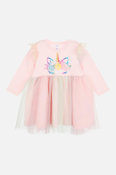 Купить 120323006_розовый, Платье PlayToday 120323006 р.92, Play Today,