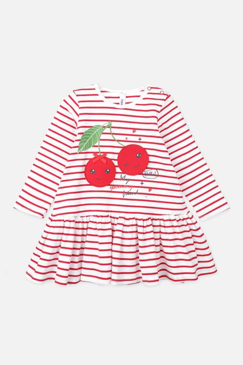 Купить 120322031_красный, Платье PlayToday 120322031 р.74, Play Today,