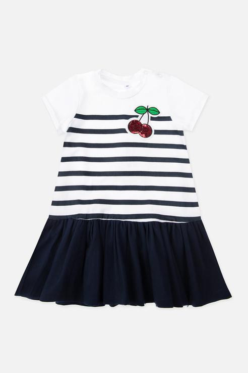 Купить 120322030_белый, Платье PlayToday 120322030 р.74, Play Today,