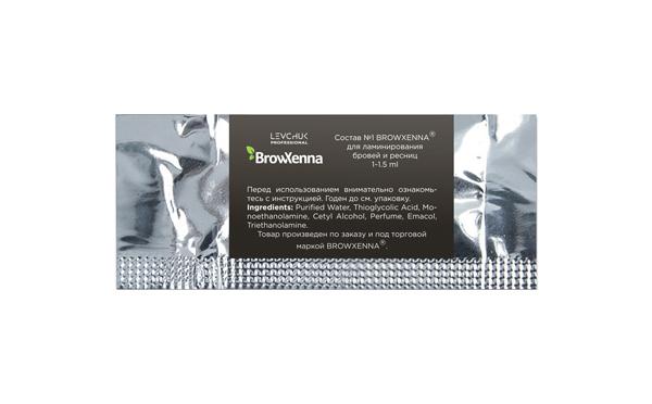 Состав №1 BrowXenna для ламинирования бровей