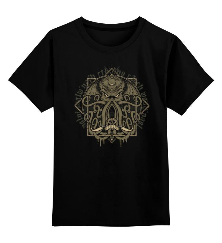 Детская футболка Printio Осьминог цв.черный р.116 0000000758797 по цене 990