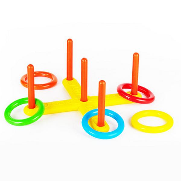 Игрушка пластмассовая Mega toys Кольцеброс ИП14000