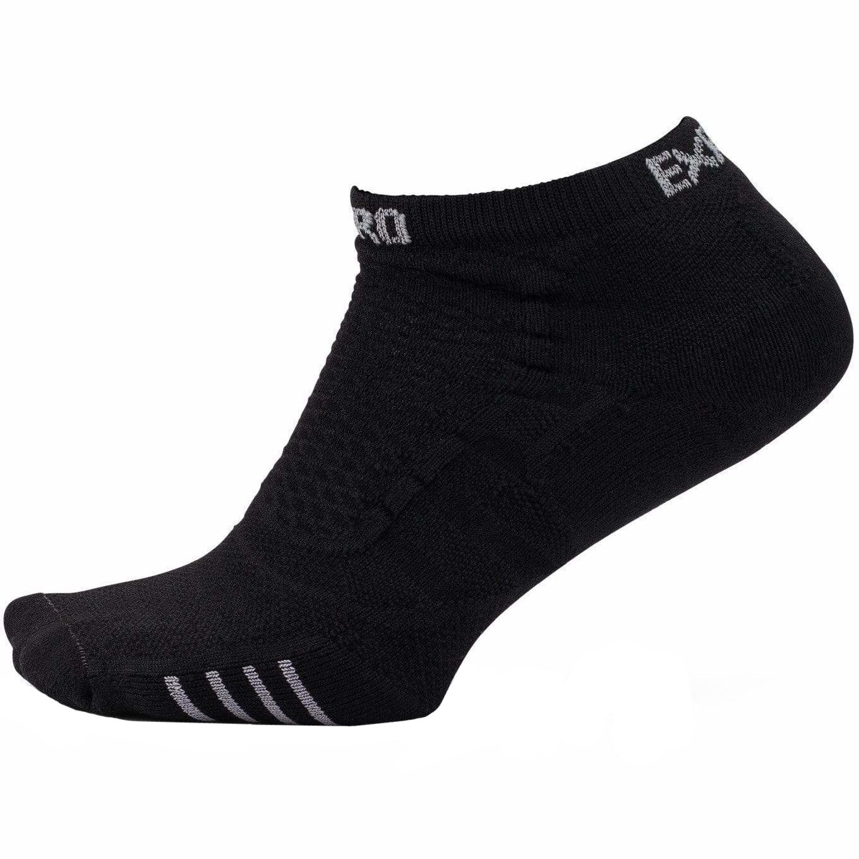 Носки Thorlo's Xpcu Experia Prolite Ultra-Lite Cushion Low Cut, black on black, 36-38 EU
