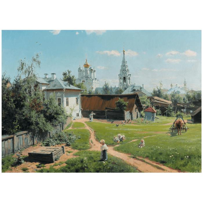 Пазл Stella Поленов В.Д. Московский дворик 2000 деталей Стелла