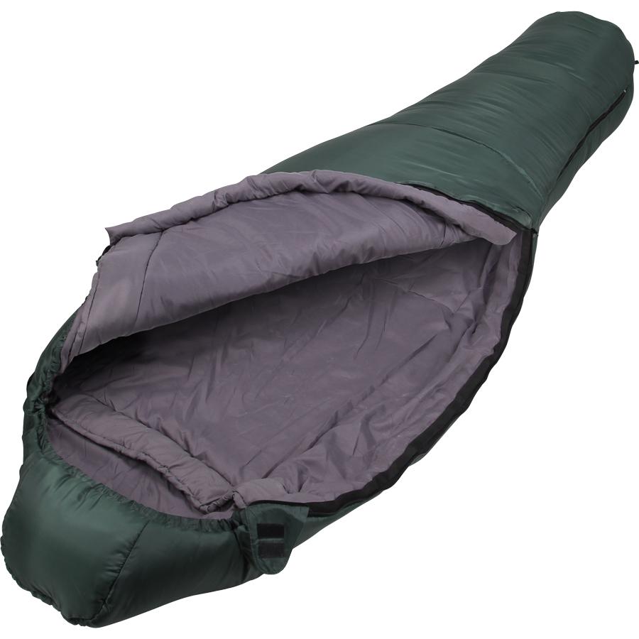Спальный мешок Сплав Ranger 4 зеленый, правый