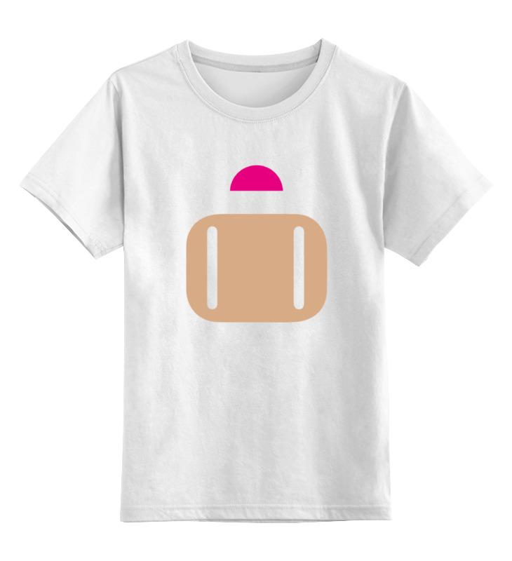 Детская футболка Printio Бомбермэн bomberman цв.белый р.128 0000000764320 по цене 790