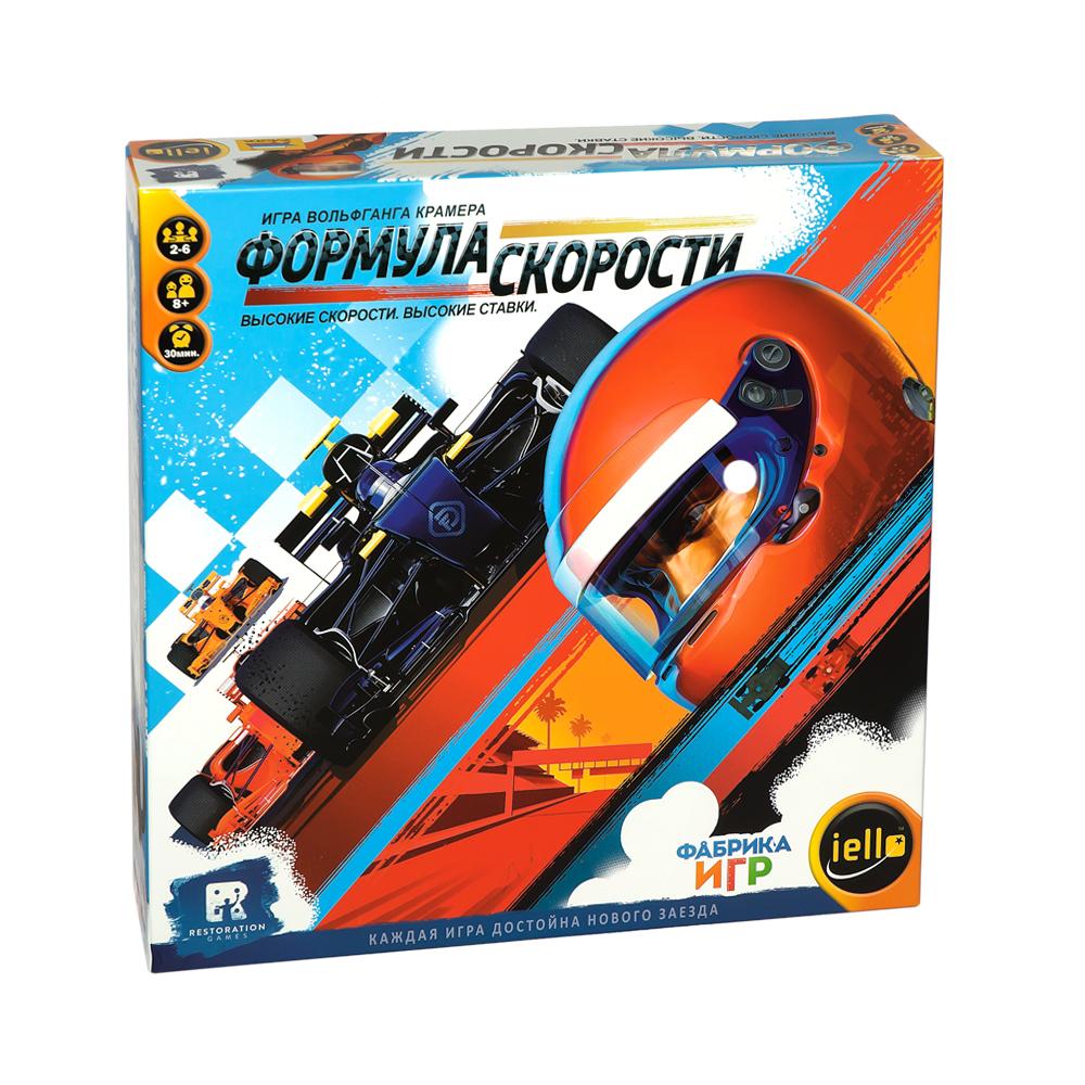 Купить Настольная игра Фабрика Игр Формула скорости, Семейные настольные игры