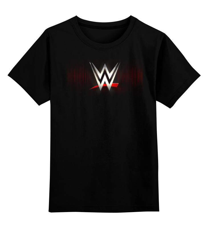 Купить 0000000757760, Детская футболка Printio Wrestlemania цв.черный р.128,