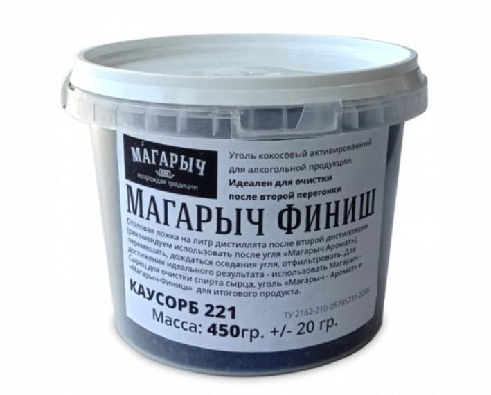 Уголь кокосовый активированный Магарыч (ведро 0,8л 450г)